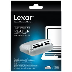LEXAR MULTI-CARD 25-IN-1 USB 3.0 READER
