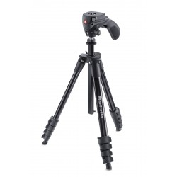 MANFROTTO Treppiedi Compact Action nero con testa joystick