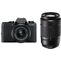 FUJIFILM X-T100 OB.XC 15-45mm+OB.50-230mm BLACK KIT