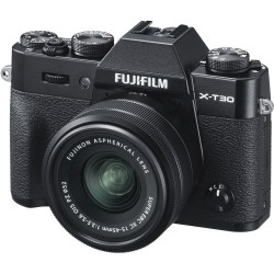 FUJIFILM X-T30 + OB. XC 15-45 BLACK KIT