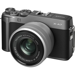 FUJIFILM X-A7+OB.XC 15-45mm DARK SILVER KIT
