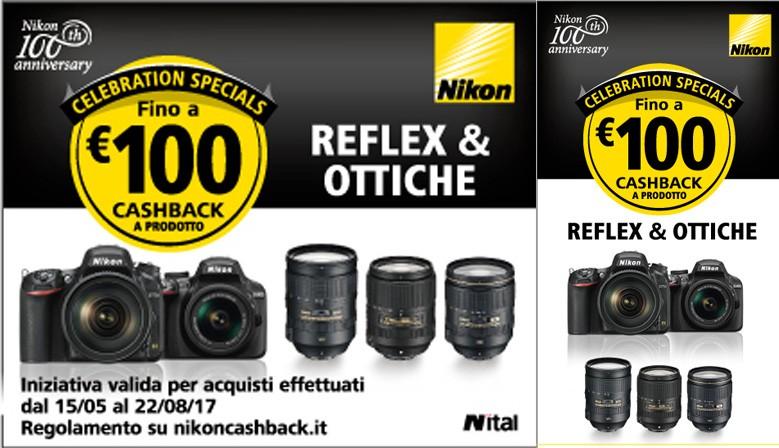 Nikon Cashback Spring - Summer 2017